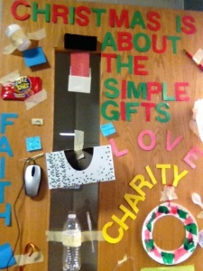 Christmas Door 2012